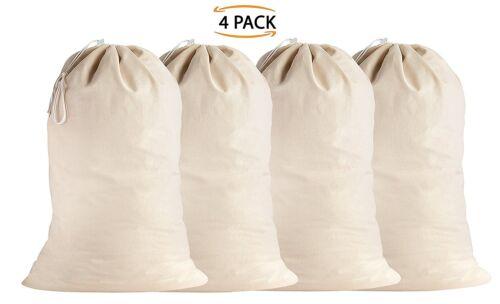 Sweet Needle 100/% Cotton Extra-Large Heavy Duty Laundry Bags