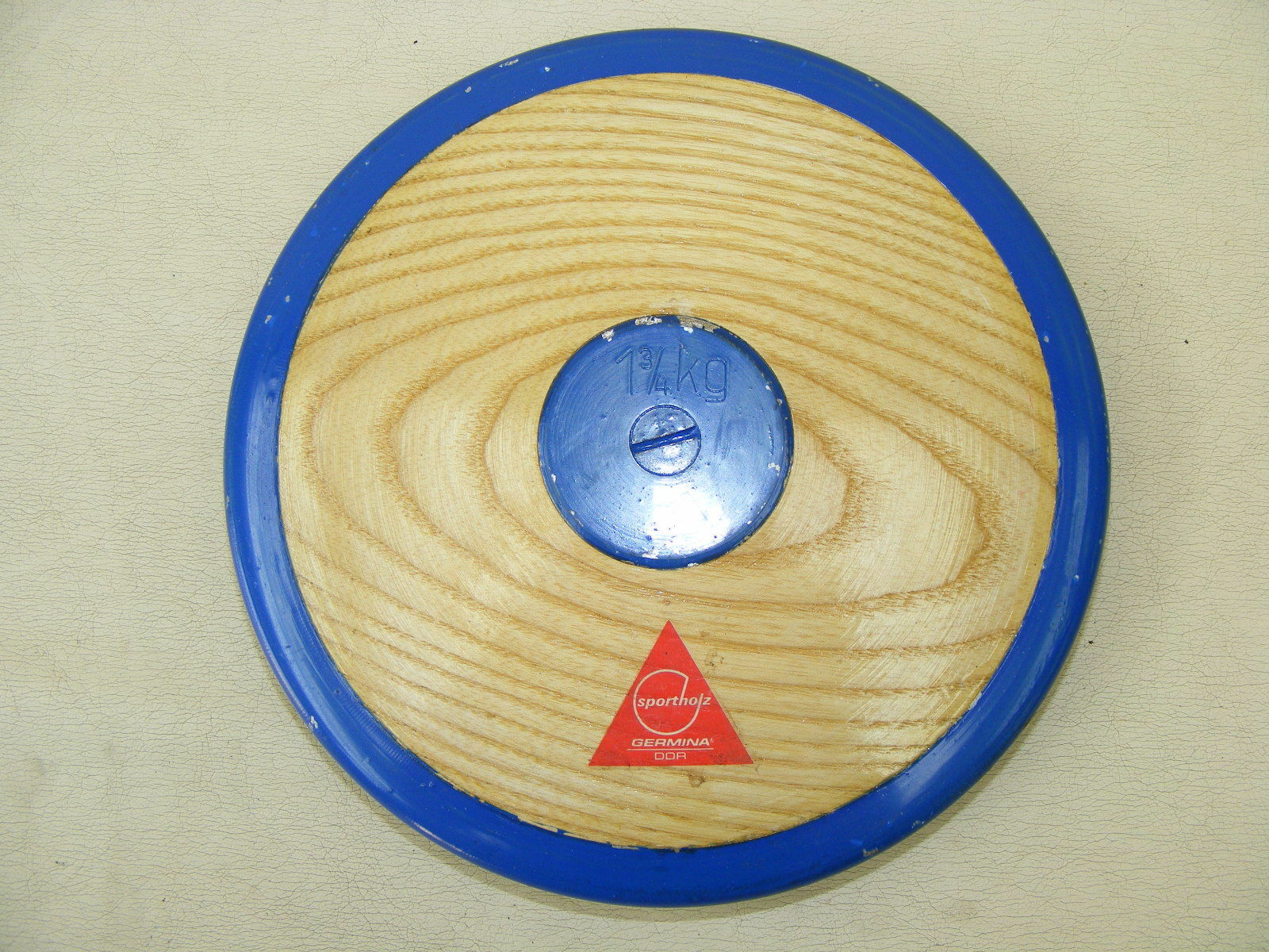 Old Discus Disc 1 3 8.8lbs Vintage Sport Device sportholz GERMINA
