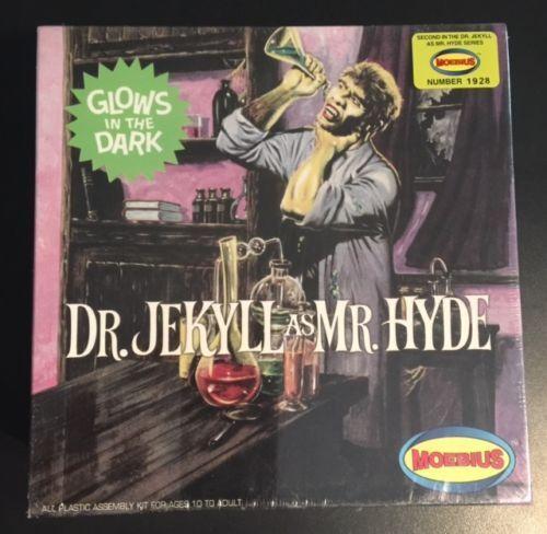 "MOEBIUS 1 8  ""Dr. Jekyll as Mr. Hyde"" aurora model kit  NEW IN BOX"