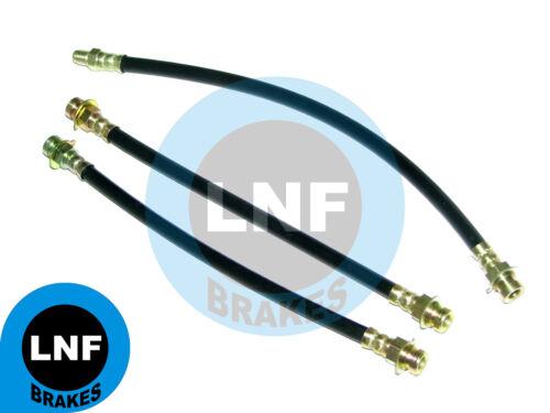 DODGE DART GT GTS 170 270 SWINGER DISC BRAKE HOSE FRONT REAR X3 65 66 67 68 69