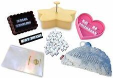 Cookie Imprinter - Customizable Alphabet Cookie Cutters Set with Letter Stamp