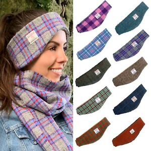 Tweed Headband Muffler ear warmer ideal for Horse Riding and free P/&P
