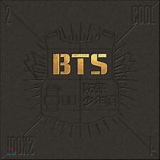 K-POP BTS 1st Single Album [2 Cool 4 Skool] CD + Photobook + Postcard Sealed