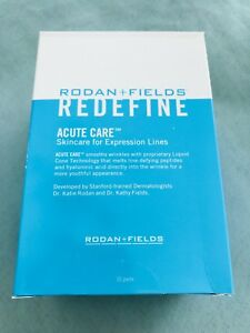 rodan  fields redefine acute care  expression lines  pairs strips  ebay