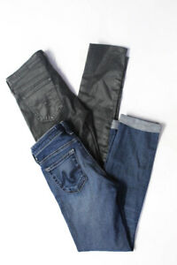 AG-Adriano-Goldschmied-Womens-Super-Skinny-Ankle-Jeans-Grey-Blue-Size-24-LOT-2