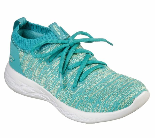 more photos f616c c54cd Skechers Women's Performance Running Shoes Go Run 600 Utilize 15070  Turquoise