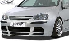 RDX SPOILER ANTERIORE VW GOLF 5 Spoiler Labbro Approccio FRONT anteriore allo stato puro ABS RDFa 086