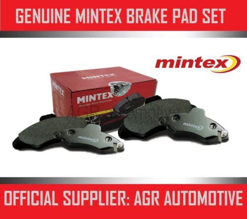MINTEX REAR BRAKE PADS MDB1866 FOR SUZUKI SX4 2.0 TD 2009