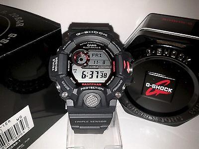 GW-9400-1 Black Casio G-Shock RANGEMAN Triple Sensor Tough Solar 200M Resin Band