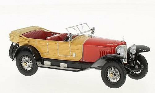 NEO MODELS Mercedes Benz 28 95 1922 rosso Wooden opt 1 43 46171