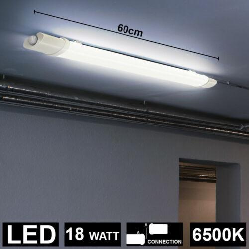 LED Tageslicht Decken Wannen Leuchte Feucht Raum Strahler Keller Werkstatt Lampe