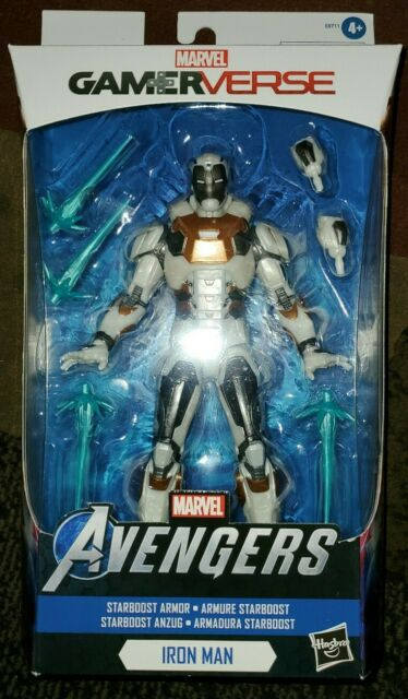 Hasbro Marvel Legends Series gamerverse Avengers Iron Man Starboost Armor