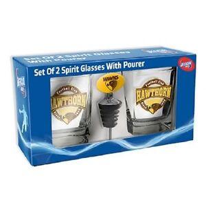 AFL-Drink-Glass-Set-With-Pourer-Hawthorn-Hawks