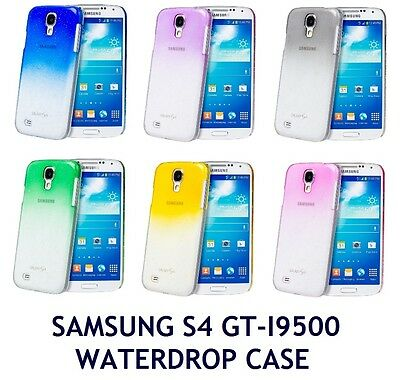 TRANSPARENT WATERDROP RAINDROP STYLE BACK CASE FOR SAMSUNG GALAXY S4 GT I9500