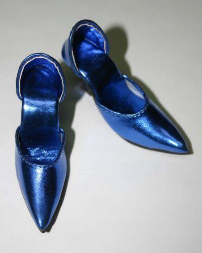"Blue Metallic Easy to Wear High Heels Shoes 72mm 22/"" American Model Tonner"