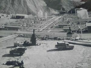 Exploration-petroliere-TOTAL-annees-50-60-photo-grand-format-Iran-Bibi-Hakimeh