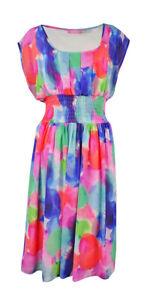 Isaac-Mizrahi-Women-039-s-Printed-A-Line-Chiffon-Dress-6-Multi