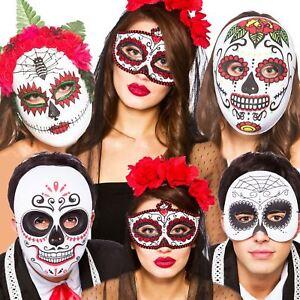 Giorno dei Morti Maschera Occhi Donna Sugar Skull Costume Maschera Occhi
