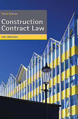 Construction Contract Law: The Essentials-ExLibrary