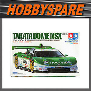 TAMIYA 1/24 TAKATA DOME HONDA NSX 2005 SUPER GT MODEL KIT 24291