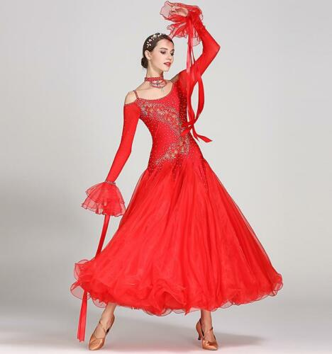 2018 NEW Ladies Girls Latin sa lsa tango Ballroom Competition Dance Dress #S7018