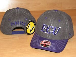249ba247ac1 Zephyr East Carolina ECU Pirates Wool Quality Snapback Hat Cap Men s ...