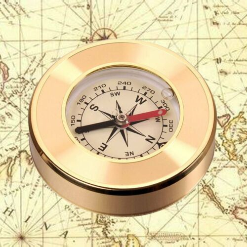Pocket Outdoor Compass Hiking Camping Boating Map Reading Orienteering