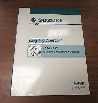 1996       1997       Suzuki       Swift    Wiring    Diagram    Service Supplement Manual   eBay