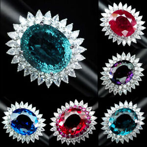 Aquamarine-Tanzanite-Ametrine-Topaz-Ring-30-20-42-CT-925-Silver-Size-6-25-6-75