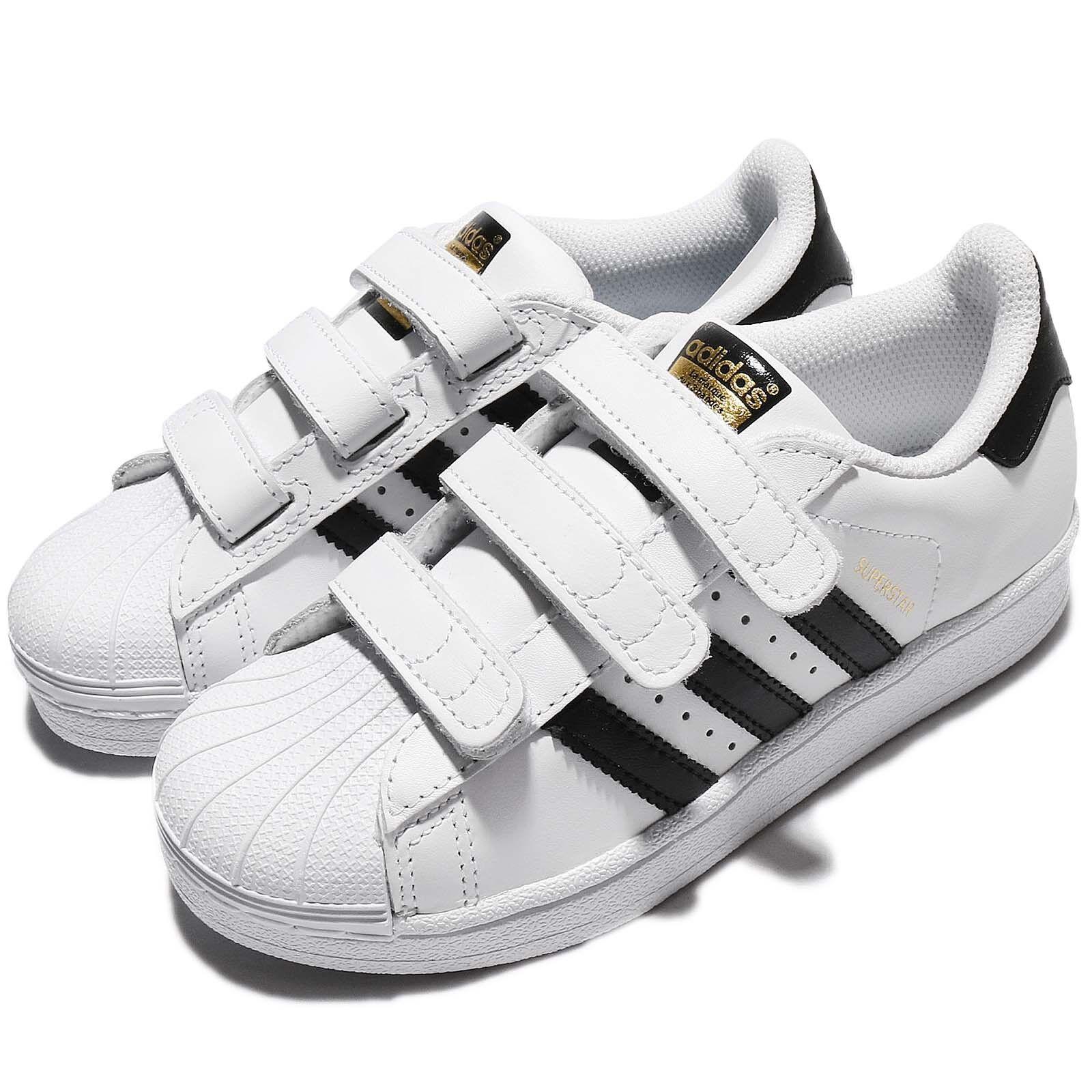 Adidas Originales súperEstrella FOUNDATION CF C blancoo Negro Niños Niños Zapato B26070
