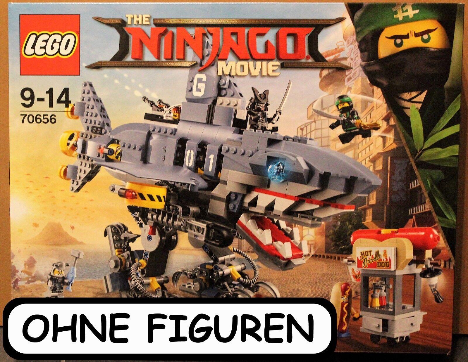 LEGO ® NINJAGO MOVIE GARMADON     SET 70656   OHNE FIGUREN   NEUWERTIG