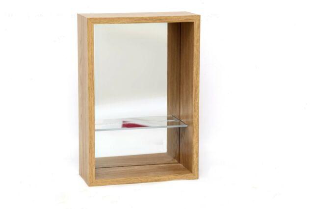Mirrored Shelf Unit SIL NEW (Q)