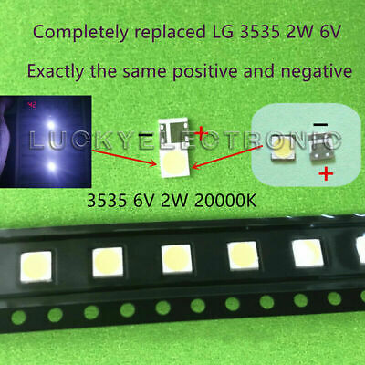 20 Pieces 6V SMD Lamp Beads For 32-65 Inch LED TV Backlight