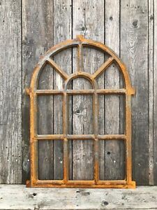Details About Cast Iron Arch Style Window Frame 94x67cm Mirror No Gl