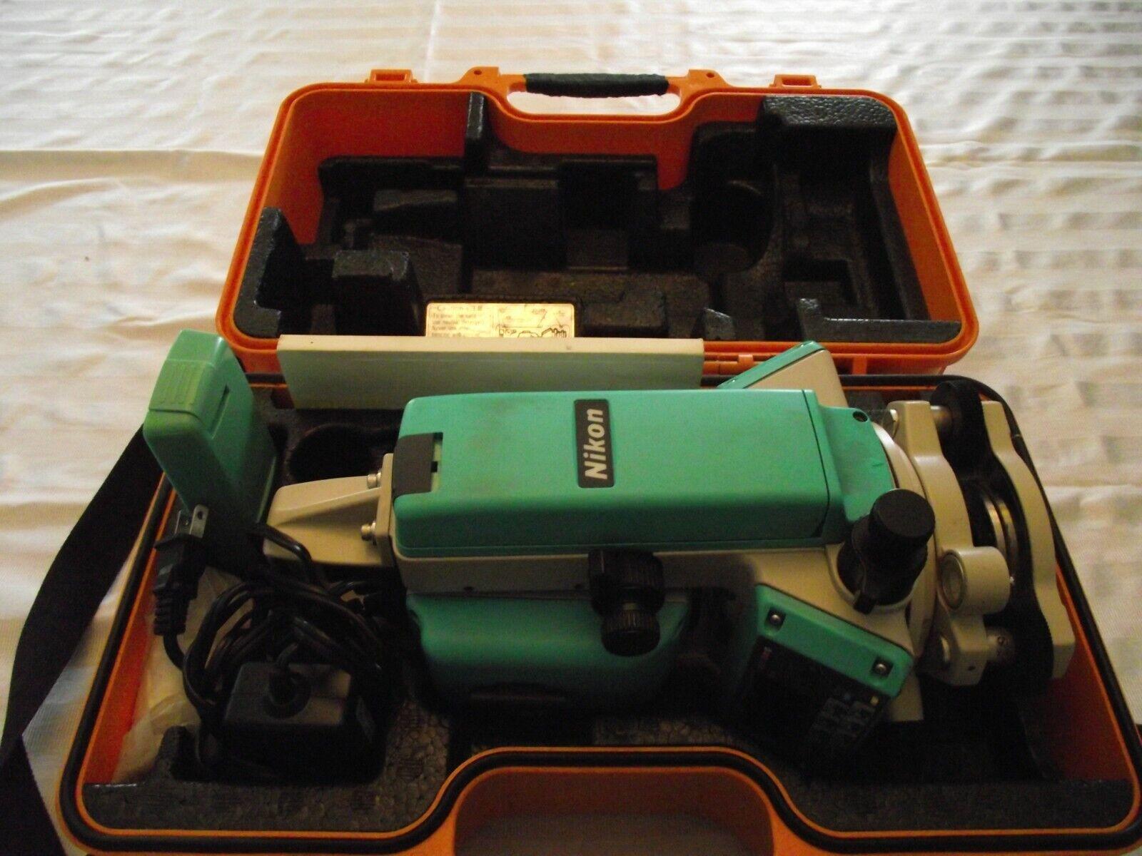 Nikon Total Station DTM-350; Surveying Equipment