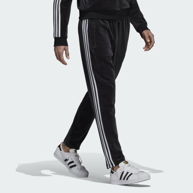 Adidas Men/'s Black Beckenbauer Trackpants