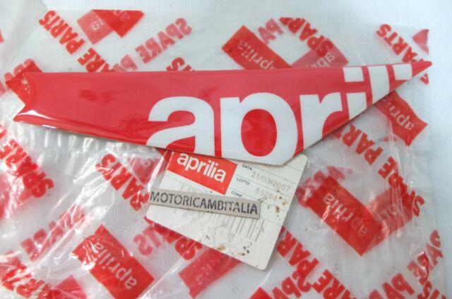 Aprilia moto SXV RXV 450 550 adesivo carrozzeria sticker sinistra codino 8166812