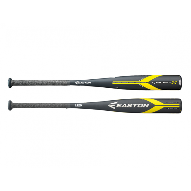 2018 Easton Ghost X Hyperlite 2 5/8 USA Comp Youth Baseball Bat YBB18GXHL 28/17