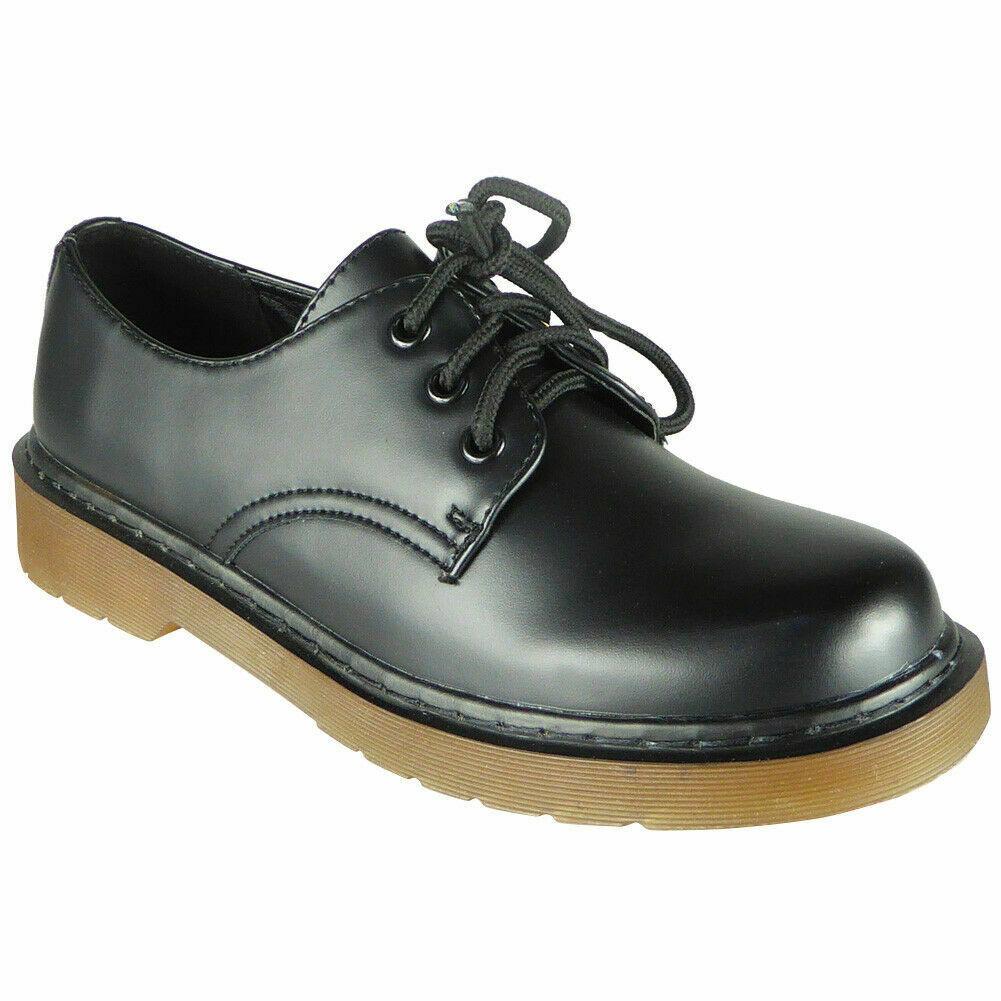 Womens School Shoes Ladies Lace Up