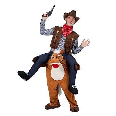 Carry Me Cavallo Divertente Adulti Mascotte Fancy Dress Up Addio Al Celibato Costume-mostra Il Titolo Originale