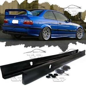 Details About Side Skirt Abs For Bmw E36 Series 3 Spoiler Body Kit M3 Coupe Saloon Cabrio