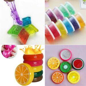 Crystal-Fruita-Clay-caucho-lodo-inteligentes-mano-goma-Plasticine-Slime-Ninos