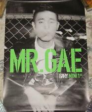 Gary Mini Album Vol. 1 MR.GAE 2014 Taiwan Promo Poster