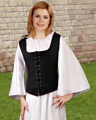 Renaissance Gothic Pirate Medieval Costume Vest ToBeAPirate.com