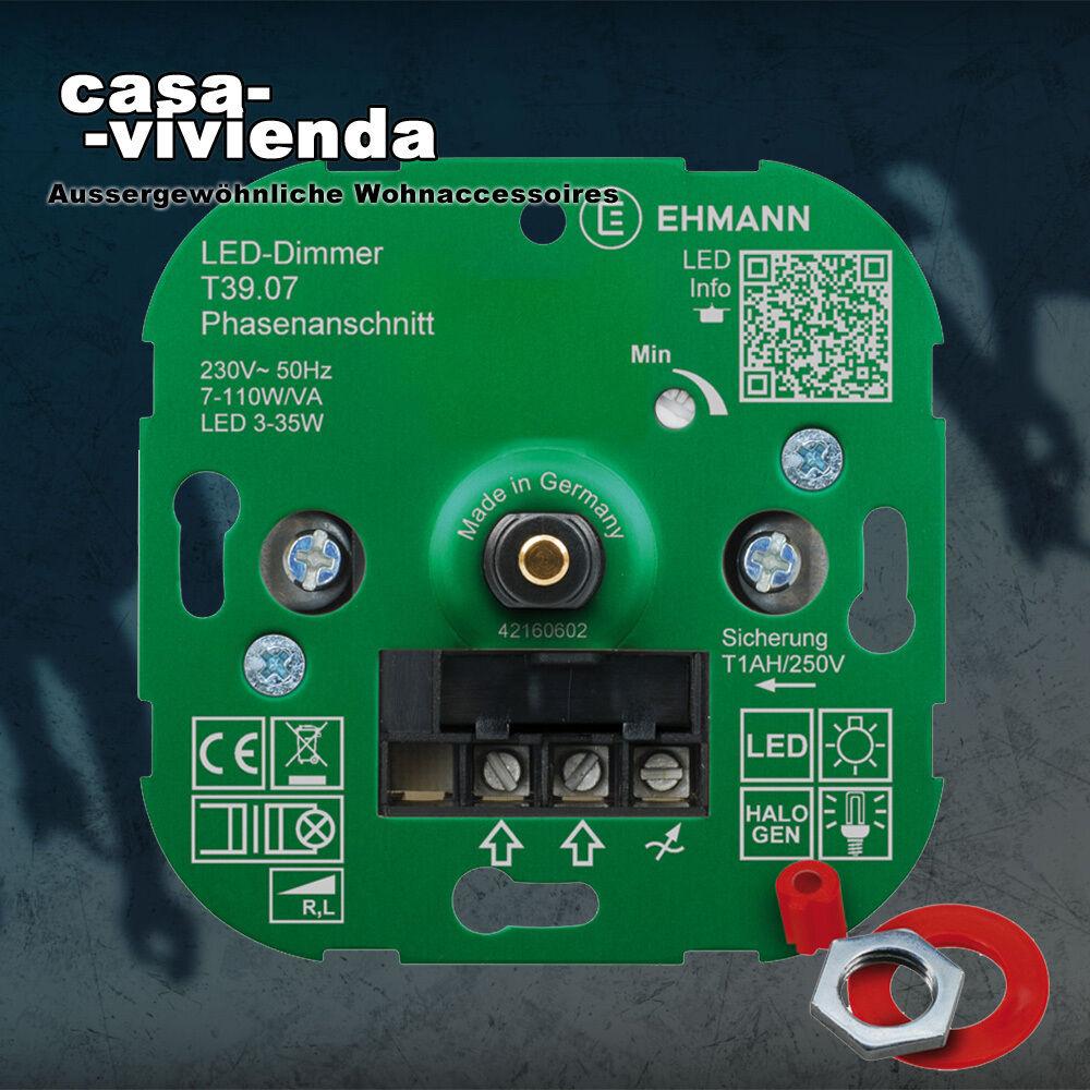 LED-Dimmer, 7-110W, Phasenanschnitt ( R,L ) - für alle BUSCH-JAEGER® Schalterpro