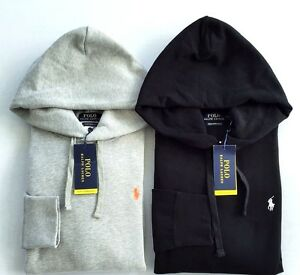 New Polo Ralph Lauren men's solid fleece pullover hoodie ...
