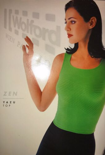 Extra Small Color Black Rare 51219-27 WOLFORD Yazu Sleeveless Top  Size