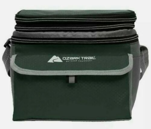Brand New Ozark Trail 6-can Soft Sided Cooler Green