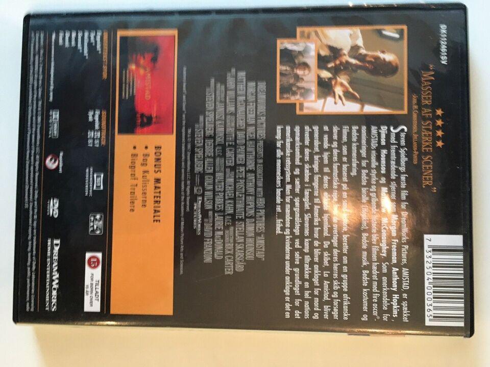 Amistad, DVD, thriller