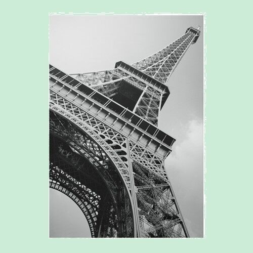 ikea bassholma large picture photo canvas paris eiffel tower poster ebay - Eiffel Tower Picture Frame